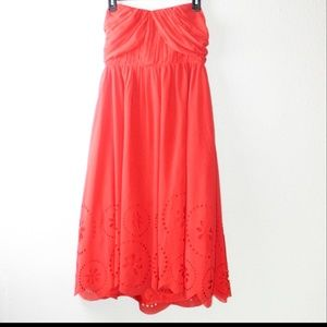 Summer Spring Strapless Dress